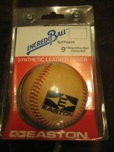 "Easton Incrediball 9"" SofTouch Baseball Regulation Size Safety Ball Unopened VTG"