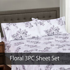 100% Cotton Freshly Floral Bally 300 Thread Count Luxury Bed Sheet Sets