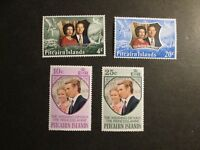 Pitcairn Is 1972-1977 commemoratives Mint Never Hinged.