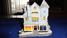 """Norman Rockwell Main Street """"The Antique Shop"""" Christmas Village"""