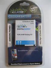 Digital Energy 1270mAh 3.7v Extended LI-ION Battery for Samsung Galaxy S-2