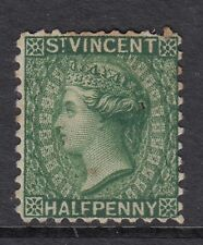 ST. VINCENT QV 1884 Half Penny Green Watermark Crown CA Perf 12 SG 42 MINT