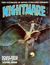 Nightmare Magazine 23 Issue Collection Horror Comics On Disc
