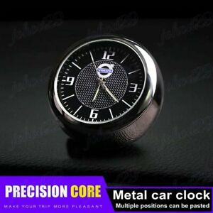 For VOLVO Car Clock Refit Interior Luminous Electronic Quartz Ornaments Gift X1
