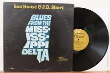 "Son House & J.D. Short LP ""Blues From The Mississippi Delta"" ~ Verve 9035 ~ VG++"
