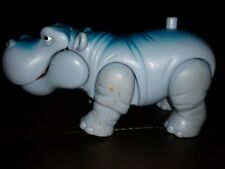 "6"" X 3"" Toy Hippo Legs Move Push The Button And Mouth Opens (2006)"