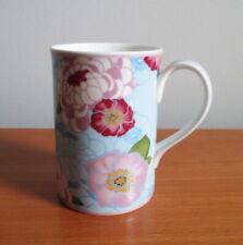 Royal Albert Mug Sweet Memories Blue Horizon Pink Red Flowers 2010 England