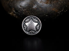 30pcs Punk Rope Star Leather Rivets Conchos for Bag Shoes Clothing Leathercraft