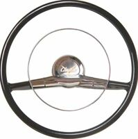"1957 Chevrolet Bel Air 150 210 Nomad Del Ray 15"" Reproduction Steering Wheel"