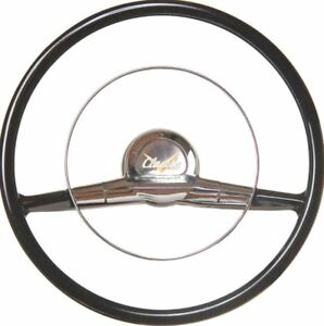 """1957 Chevrolet Bel Air 150 210 Nomad Del Ray 15"""" Reproduction Steering Wheel"""