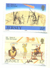Jersey-halley, S COMET-space-science MNH, 1986