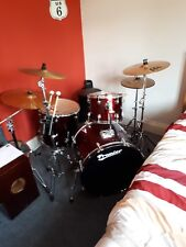 5 Piece Premier Olympic Drum Kit - All Cymbals and Hardware Included