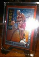1996 MICHAEL JORDAN TOPPS MYSTERY FINEST W/BORDER NM-MT CONDITION #M1 NICE CARD!