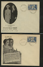 France  234    2  nice  different cachet covers     MS0219