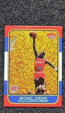 Michael Jordan Gold 2021 Fleer Rookie Card.Custom Card. Limited Edition  Reprint