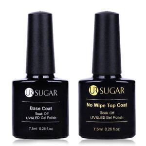 6 Bottles BORN PRETTY 7ml Soak Off UV Gel Polish Nail Art Glitter Varnish