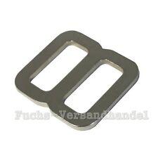 10 Stück Schieber 25mm Schiebeschnalle Stopper 26 mm Gurtschieber Stahl Metall -