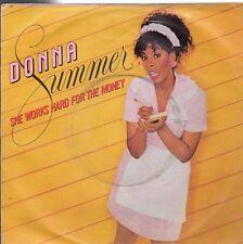disco 45 GIRI Donna SUMMER SHE WORKS HARD FOR THE MONEY - I DO BELIEVE