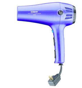 *NEW* Conair 1875 Watt Velvet Touch Hair Dryer - Purple