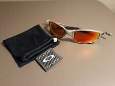 Oakley X Metal Juliet Plasma Sunglasses - Fire Iridium - VERY NICE