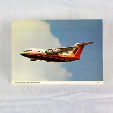Británico Aeroespacial - BAE 146 - G SSSH - Avión Tarjeta postal