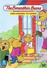 Berenstain Bears FUN LESSONS TO LEARN Children Kid Family DVD MOVIE 6 Stories