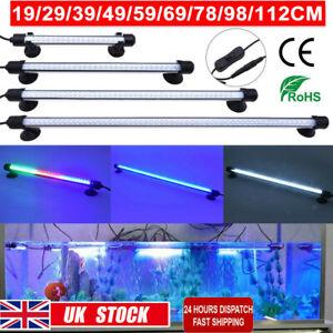 IP68 Aquarium Fish Tank LED RGB 5050 SMD Strip Light Bar Lamp Submersible Lights