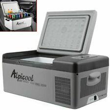 12/24V Portable Mini Refrigerator Fridge Freezer Cooler Car Camping Caravan 15L
