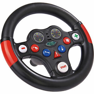 BIG Racing Sound Wheel, Lenkrad, schwarz