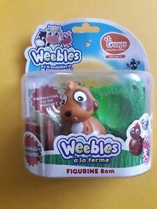Hasbro Weebledown Wobbledown Wobbily Farm Weebles Dog New
