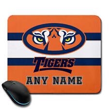Auburn Tigers NCAA Personalized Name Mousepad Gift