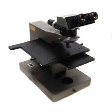 Olympus Bhmjl Compuesto Bh Microscopio con / Xyz Stage W/ Nikon 15x Oculares