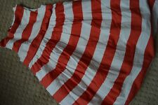 baby Gap 4 yrs 4T Dress Globe Mapper Tulle Full Coral Red White Stripe Fall