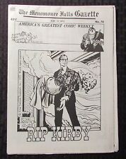 1973 Menomonee Falls Gazette Comic Weekly #73 May 7 Fn+ 6.5 Rip Kirby