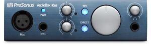 PreSonus AudioBox iOne Portable USB Audio Interface for PC/Mac/iPad