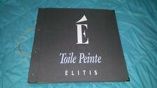 Vintage Elitis Toile Peinte fabric wallpaper sample book Scalamandre-HTF-Rare