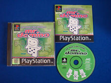 ps1 NO ONE CAN STOP MR DOMINO Game PAL Playstation ps2 ps3