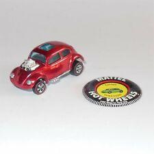 Hotwheels Redline 1968 Custom Volkswagen VW Red with badge