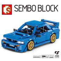 LEGO TECHNIC MEGA BLOKS COMPATIBIL100 % ☆ MOC SUBARU WRX RETRO/CARICA ☆ ►NUOVO◄