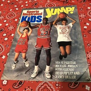 Sports Illustrated For Kids PREMIERE ISSUE Jan 89 Michael Jordan Full Uncut Card