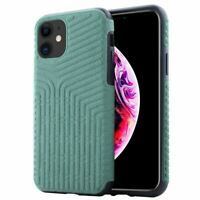 For iPhone 11 Pro Suede Fibre Case Cover Shockproof Luxury Silicone Protective