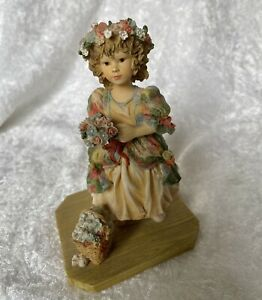 THE LITTLE BRIDESMAID BY CHRISTINE HAWORTH  from the LEONARDO COLLECTION