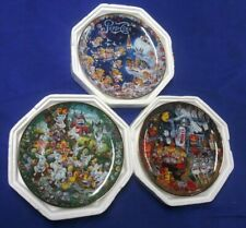 Set of 3 Nos Numbered 1995 Franklin Mint Pepsi Cola Bill Bell Plates Ships Free