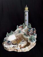 Vintage Lenox Light at Holiday Harbour Lighthouse Sculpture EUC