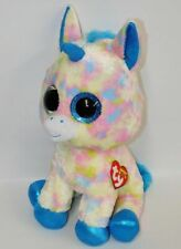 "Ty Beanie Boos Blitz the Unicorn 16"" Large Plush w/Red Heart Tag 2017"