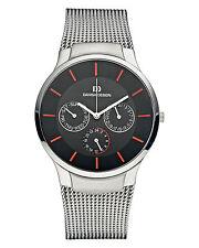 Danish Design IQ63Q948 Black Dial Stainless Steel Quartz Classic Men's Watch