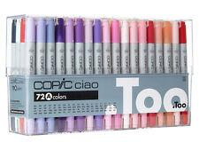 Copic Ciao 72 Colors Set A 72A Premium Artist Markers Anime Comic Japan