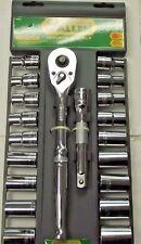 "Allen 66636 20Pc Socket Set 1/2"" Drive Tools Sae & Metric"