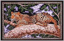 Indien Tigre Mur Pendu Coton Tapisserie Affiche Multicolore Bohème Décor Art