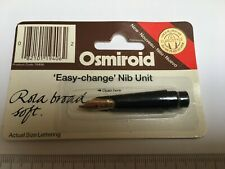 Osmiroid Calligraphy Nib • Easy-change Nib Unit • Rola Broad Soft